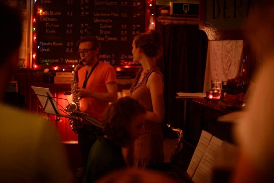 Foto site optreden café de Rat